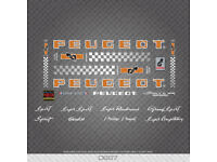 Decals PY10 Frame Stickers Peugeot PX10 n.750