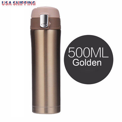 (17OZ Coffee Travel Mug Stainless Steel Thermos Vacuum Flask  Tea Water Bottle )