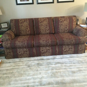 3 piece set--couch, love seat, chair