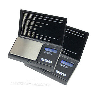 1000g x 0.1g Mini Digital Jewelry Pocket Gram Scale Backlight LCD OZ/G US Ship
