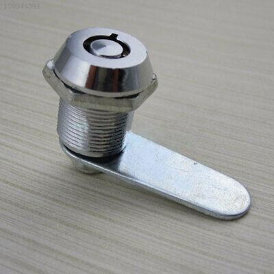 5708 Cylinder Barrel Cupboard Cabinet Locker Drawer Safe Cam Lock With 2 Keys