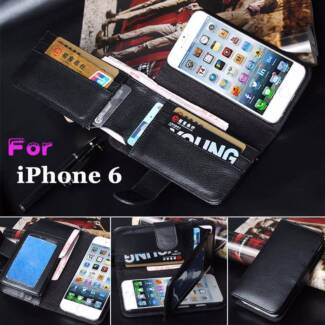 PU Leather Wallet Mobile Phone Cover for iPhone 6 iPhone 6 Plus Morley Bayswater Area Preview