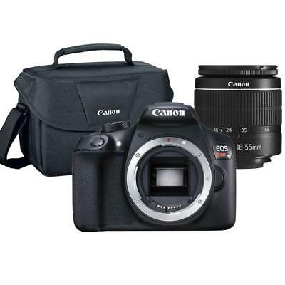 Canon EOS Rebel T6 18MP DSLR Camera with 18-55mm Lens and Canon 100ES