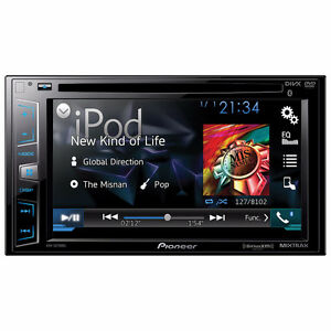 PIONEER AVHX2700BS DIN/BT/SIRIUS/DVD/MIXTR/ANDROID/IPHONE