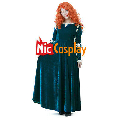 Brave Costume (Brave Merida Cosplay Costume Princess Women Female Adult)