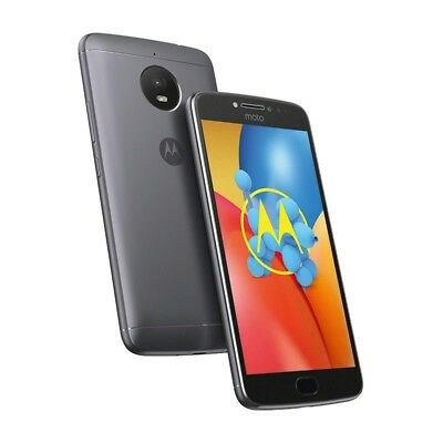 Motorola Moto E4 E Plus 4th Generation 32 GB Iron Gray Unlocked New in E-Pack