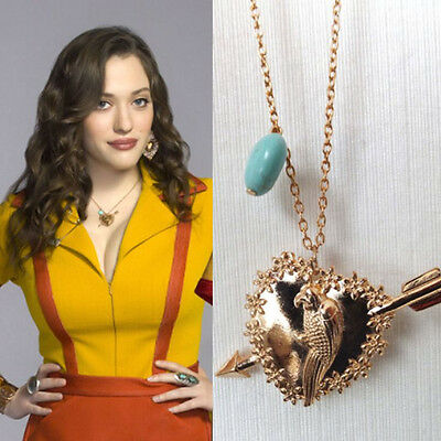 Free Shipping  2 Broke Girls Max parrot Pendant Necklace