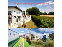 Static caravan for sale Hampshire, Southampton, Sea views,