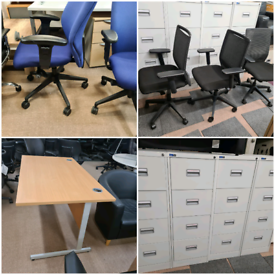 Office furniture office desks and chairs