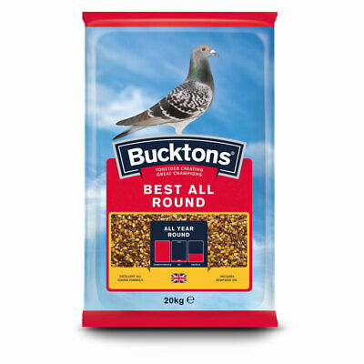 Buckton's Racing Pigeon Best All Round Feed / Seed - 20kg
