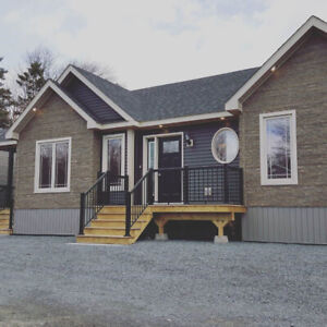 Beautiful new bungalow ready to move to your land!
