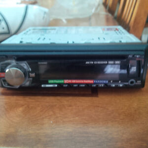 truck radio with CD player