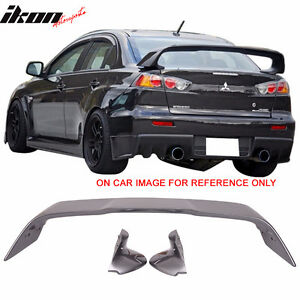 08-15 Lancer Evolution 10 EVO X Trunk Spoiler