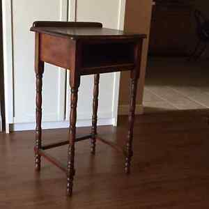 Antique Telephone Table Lovingly Refinished - ONLY $59