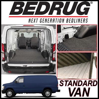BEDRUG VanRug Cargo Mat Liner 1992-2014 for Ford E-Series Standard Cargo Van ()