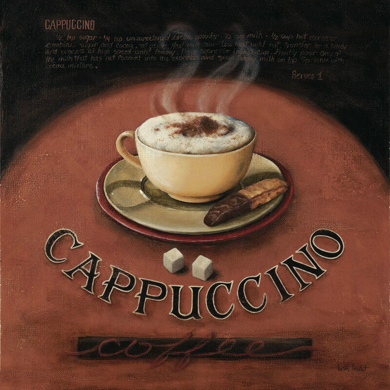 AUDIT LISA - CAPPUCCINO - ART PRINT POSTER (1473)