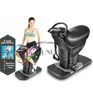 Updated 110V 200W Black Horse Rider Indoor Exercise Machine Train all Muscles Horse riding simulator 154033