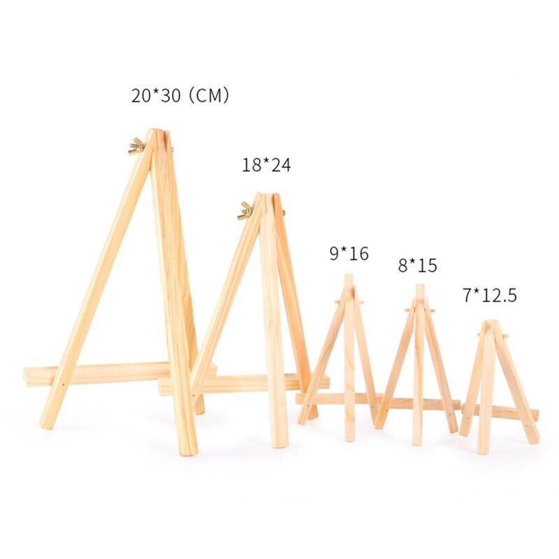Details About Mini Wooden Easel Stand Phone Holder Table Desktop Art Wedding Photo Display Fun