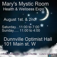 Mary's Mystic Room Health and Wellness Expo