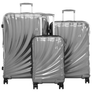 IT Luggage Pagoda 3-Piece Hard Side Expandable Luggage Set - Sla
