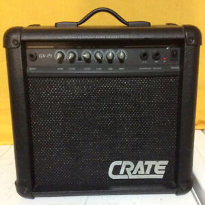 CRATE GUITAR AMPLIFIER FOR SALE!