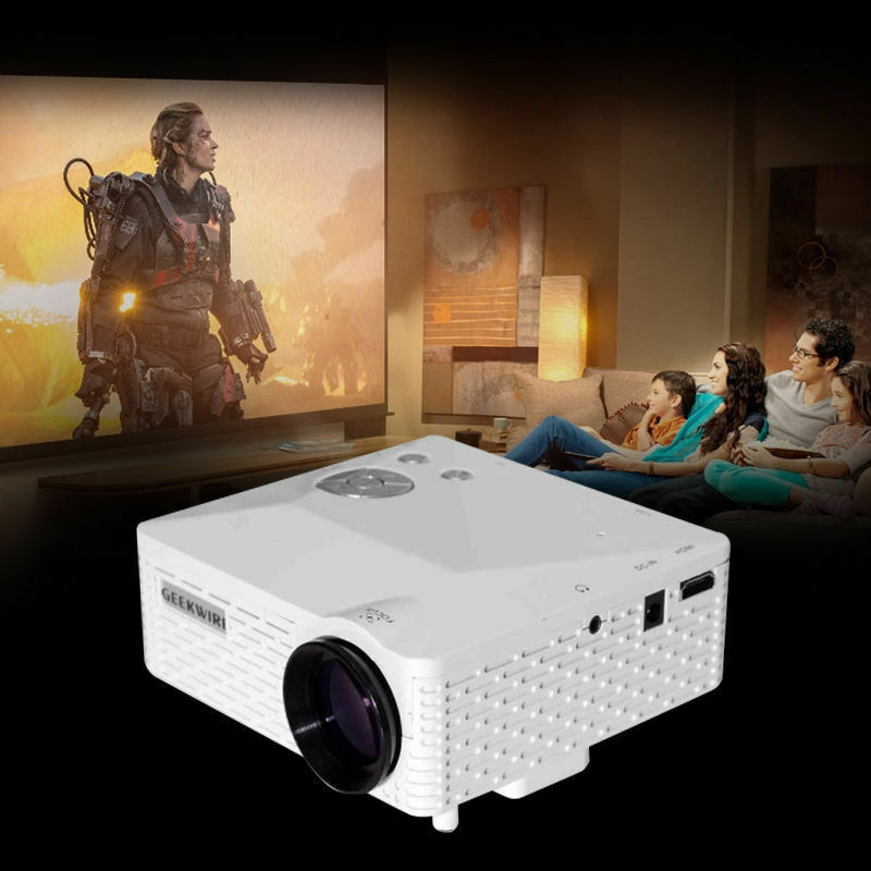BEST HD Home Theater Multimedia LCD LED Projector 1080P HDMI TV DVD Playstation