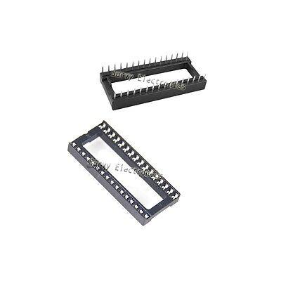 10 Pcs Dip-32 32 Pin 32pin Ic Sockets Adaptor Solder Type Wide
