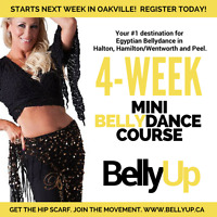 Bellydance at BellyUp - Try it out!