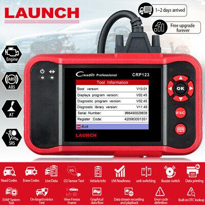 Check Engine ABS SRS Airbag Transmission Code Reader OBD2 Scanner Diagnostic
