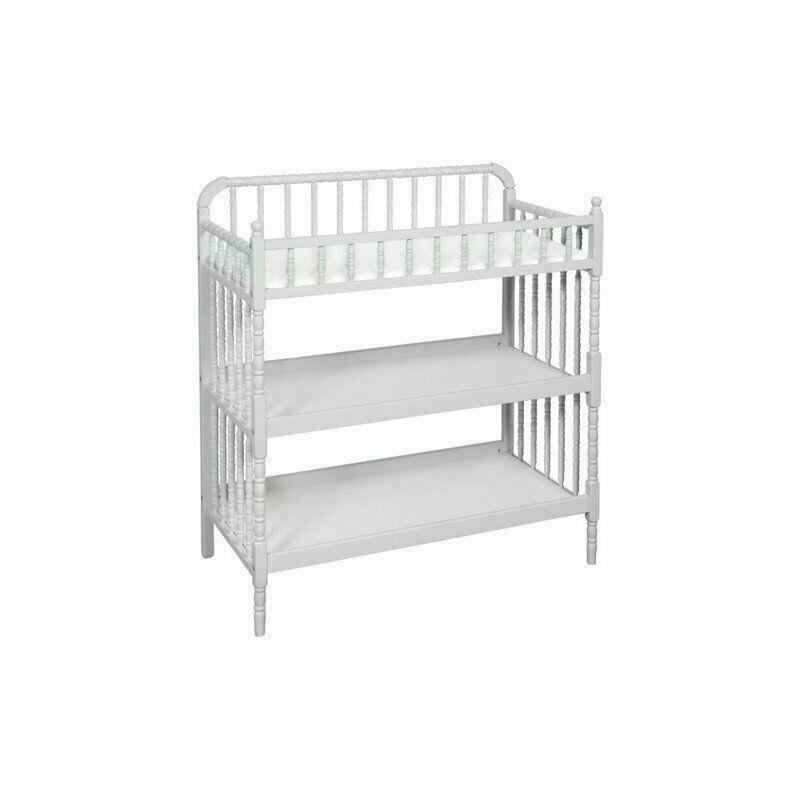 DaVinci Jenny Lind Changing Table in Fog Gray New Open Box {BC}