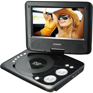 "Sylvania 7"" Swivel Screen Portable DVD Player"