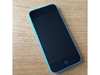 iPhone 5C, Perfect condition, 8 gb, Blue, O2 network, can deliver