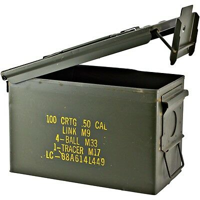Military Surplus Ammo Cans - 50 Cal  **Local Pickup - Surplus Ammo