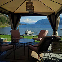 Shuswap Lakefront- 3 Cabins for the price of one and furnished!