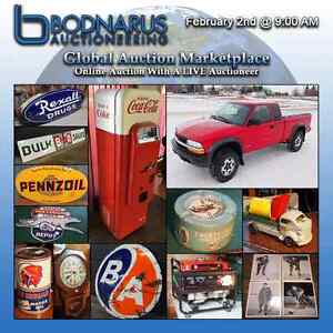 February Global Auction Marketplace Online Auction