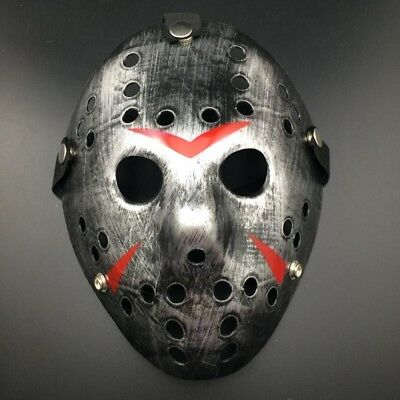 Friday The 13th Halloween Myers Jason Vs.Freddy Kostüm Requisit Horror Hockey ()