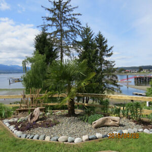 One bedroom suite for rent, Deep Bay, Central Vancouver Island.