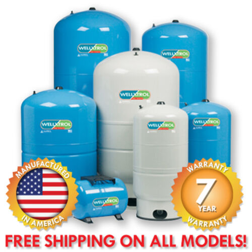 Amtrol Well-X-Trol Water Pressure Tanks - All Models and Sizes