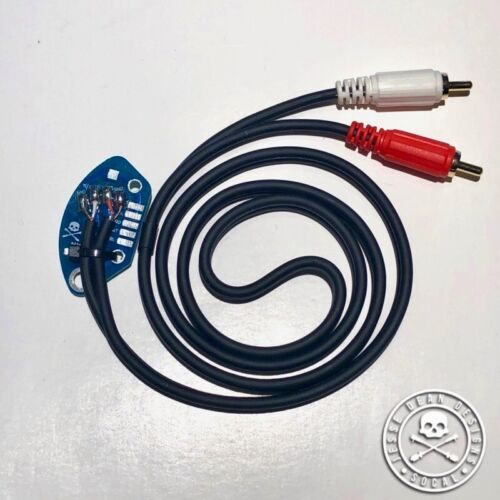 TECHNICS SL1200 RCA CABLE WITH INTERNAL GROUND PCB