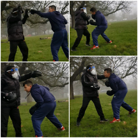 Boxing for fitness coach - Mobile boxing personal trainer