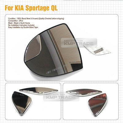 Wide Angle Rear View Blind Spot Side Mirror 2Pcs for KIA 2017-2018 Sportage QL