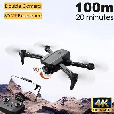 Mini Drone Selfie WIFI FPV 1080p HD Camera 2 Battry Foldable Arm RC Quadcopter
