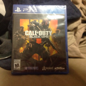 CALL OF DUTY: BLACK OPS 4 BRAND NEW UNOPENED STILL SEALED IN BOX