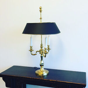 Antique Solid Brass Table Lamp