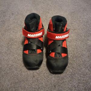 kids cross country ski boots