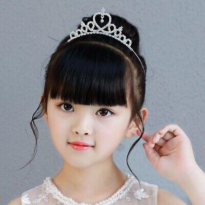 New Princess Crown Tiara Headband Hair Band Wedding Prom Tiaras For Kids Girls