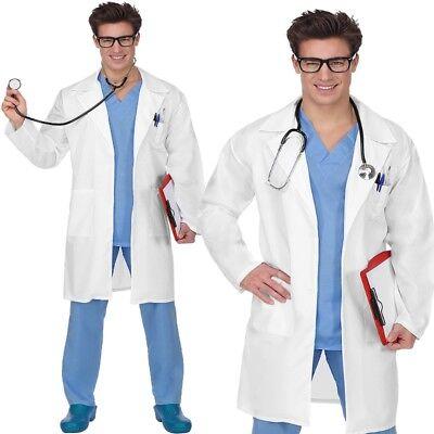 Doktor Chirurg Arzt 46/48 (S) Herren Kostüm 3-teilig Kittel Doc Halloween #7026