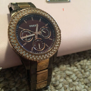 Authentic Guess and Fossil Watches