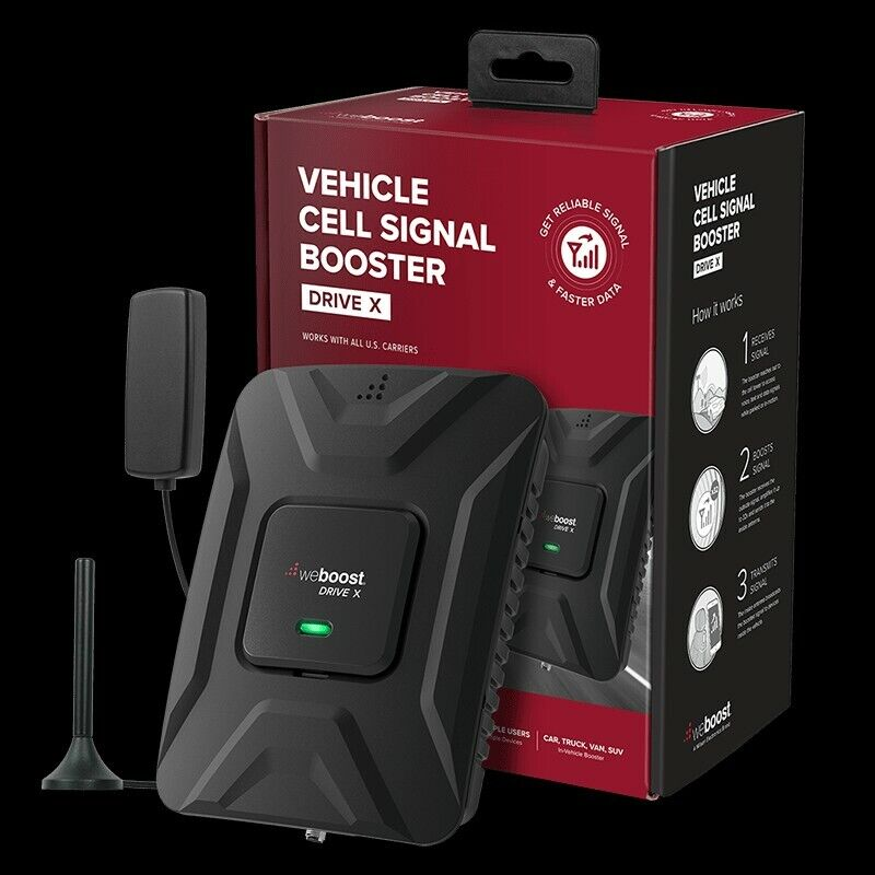 New weBoost 470510 Drive 4G-X Cell Phone Signal Booster- GREAT DEAL!!$$