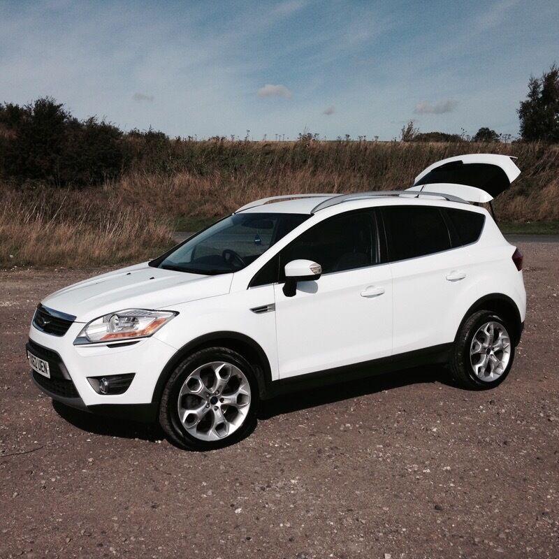 Ford Kuga   Tdci Titanium White Dr Wd Manualsel  Miles